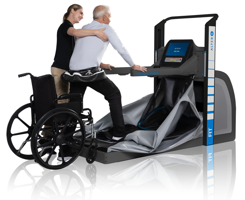 FIT wheelchair alterg