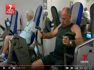 Exercise using Hur for balance